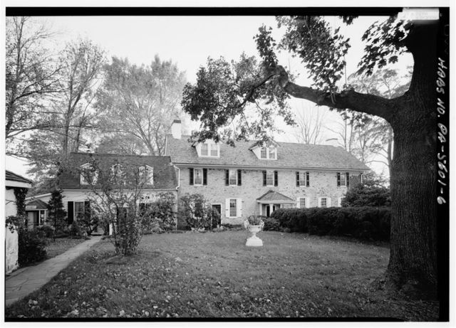 Temora Farm, House, 372 Swamp Road, Newtown, Bucks County, PA