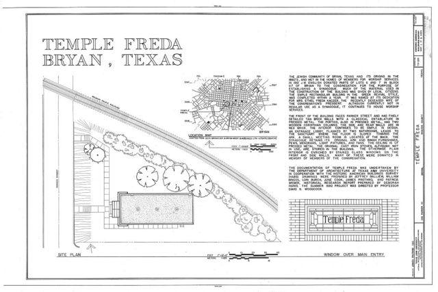 Temple Freda, 205 Parker Street, Bryan, Brazos County, TX