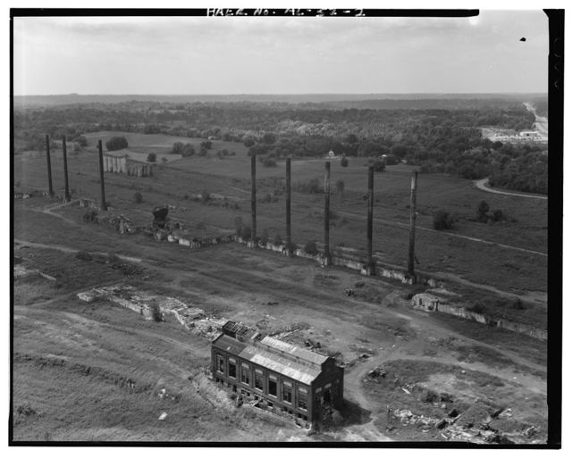Tennessee Coal & Iron Company, Ensley Works, West of residential & commercial districts, Birmingham, Jefferson County, AL