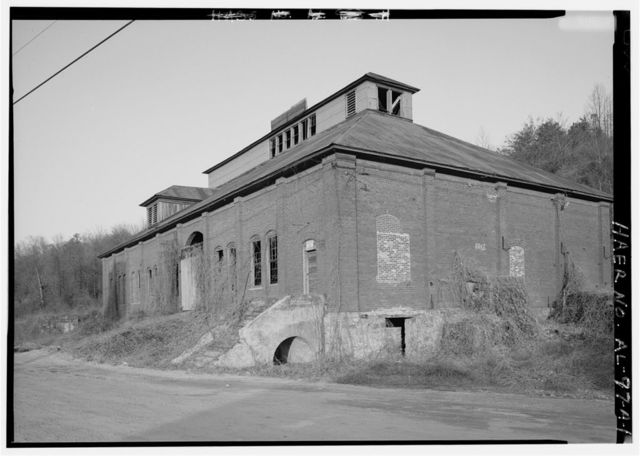 Tennessee Coal & Iron-U.S. Steel Surface Plant, Shop, East of State Route 150, on South slope of Red Mountain, Bessemer, Jefferson County, AL