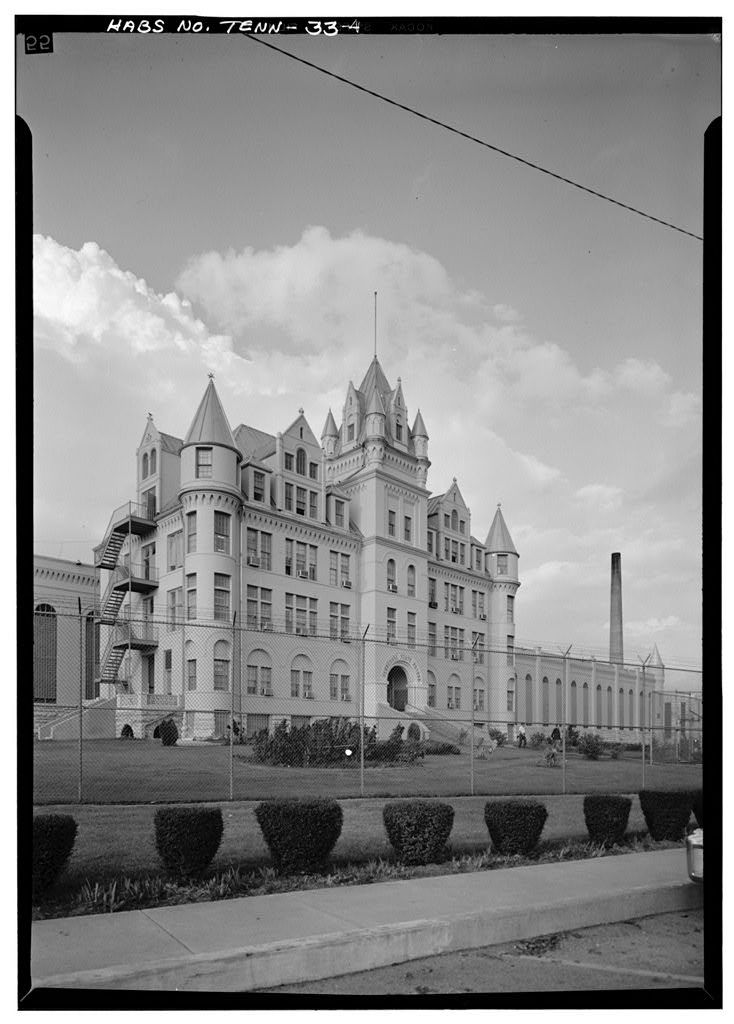 Tennessee State Penitentiary, Main Prison, West End, Centennial Avenue, Nashville, Davidson County, TN