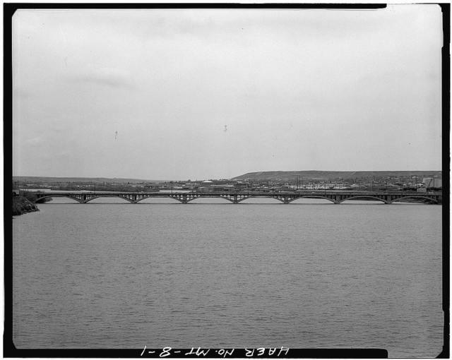 Tenth Street Bridge, Spanning Missouri River, Great Falls, Cascade County, MT