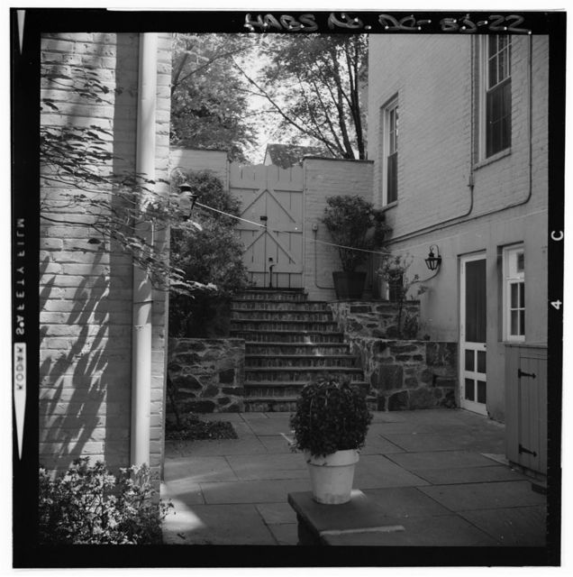 Teresa Fenwick House, 3512 P Street, Northwest, Washington, District of Columbia, DC