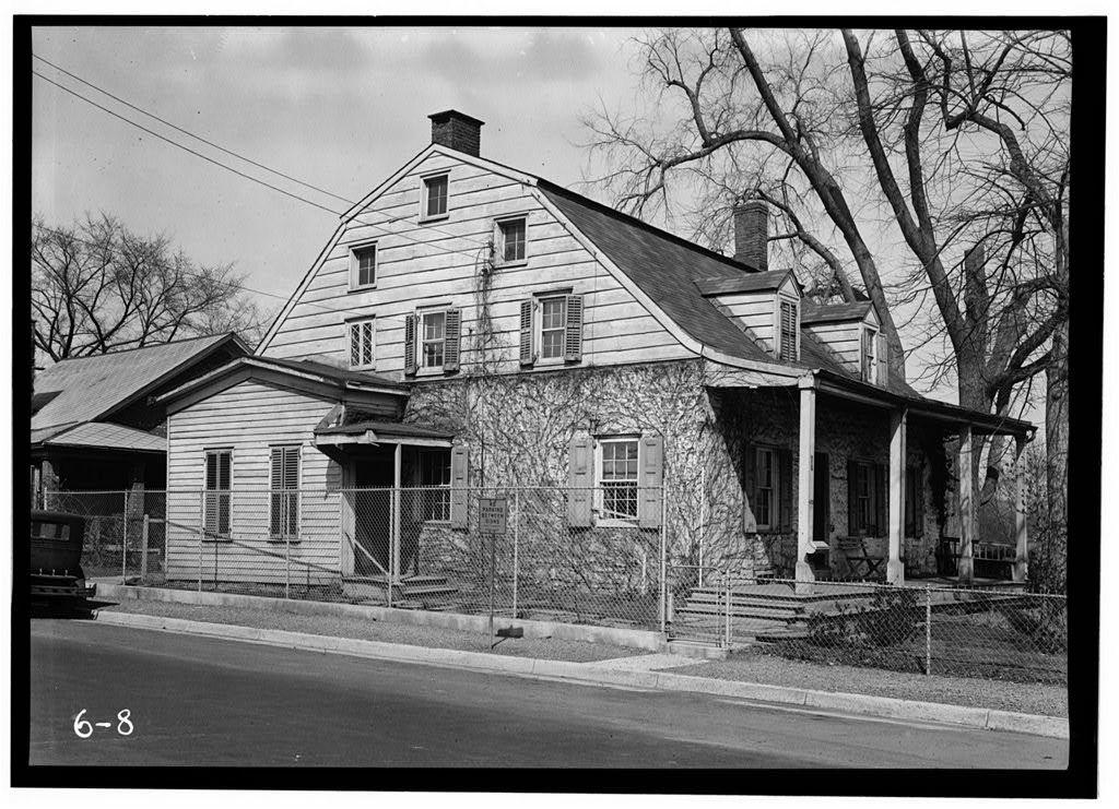 Terheun House, 450 River & Anderson Streets, Hackensack, Bergen County, NJ