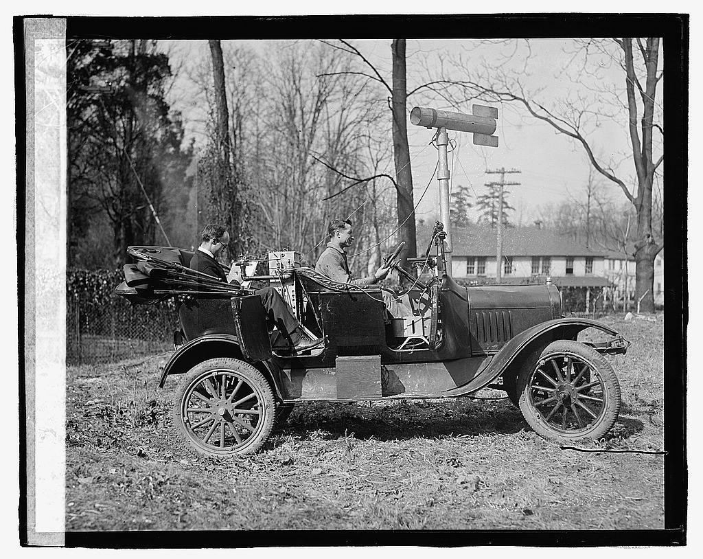 Test car, Bureau of Standards, 3/26/23
