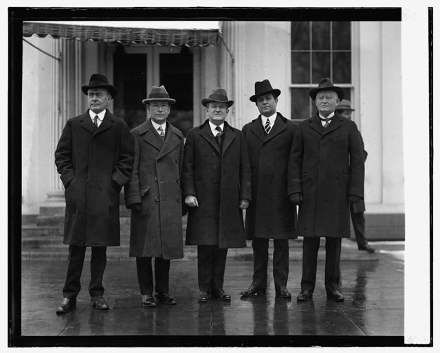 Texas delegation at W.H. on behalf of Clarence Gilmore, 1/12/25