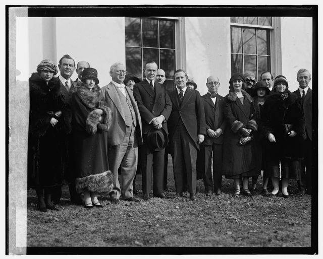 Texas delegation inviting Coolidge to West Texas Chamber of Commerce meeting, 2/4/25