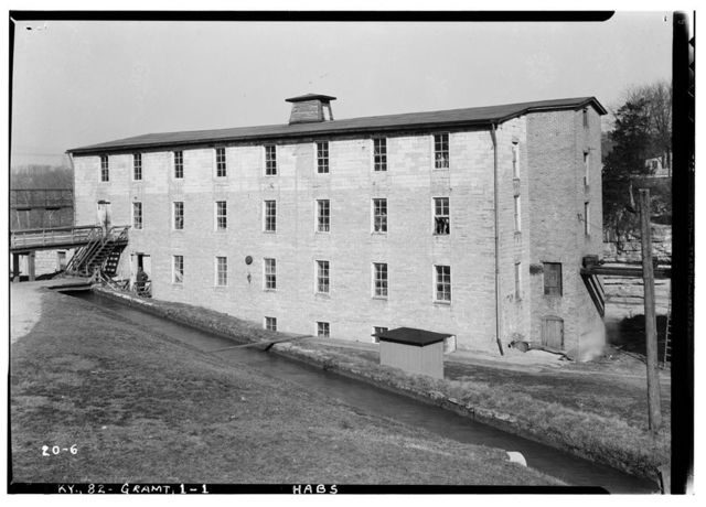 Textile Mill & Storage Warehouse, U.S. Route 60, Grahamton, Meade County, KY