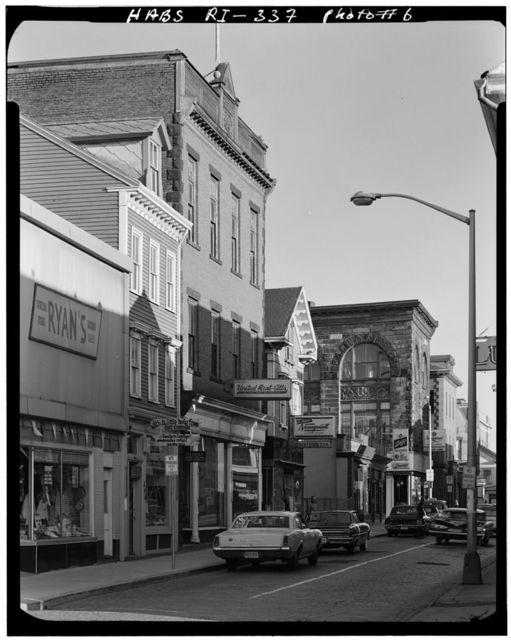 Thames Street Area Survey, Thames Street, between Washington Square & Memorial Boulevard, Newport, Newport County, RI