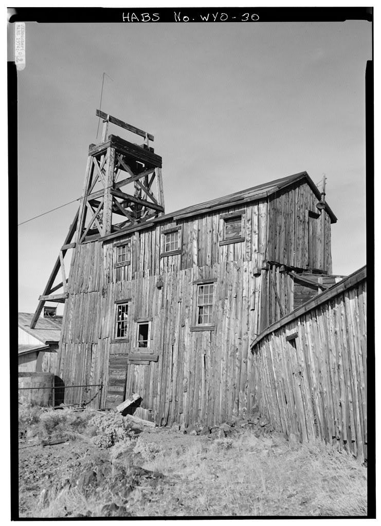 The Carissa Mine, South Pass City vicinity, South Pass City, Fremont County, WY