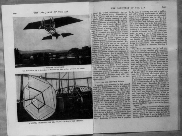 The Conquest of the Air, The Story of Man's Efforts to Fly- Ballooning [Bernard Meiklejohn, World's Work]