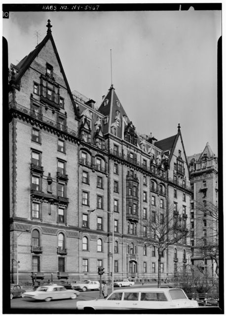 The Dakota (Apartments), 1 West Seventy-second Street, Central Park West, New York, New York County, NY