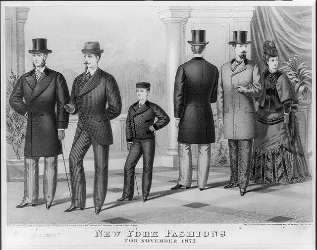 The first suit. Holyday gift from Baldwin the Clothier, to the patrons of the Boys Department, cor. Broadway & Canal St. N.Y. / Hatch & Co. 34 Vesey St., N.Y.