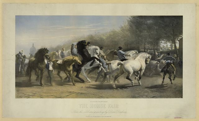 The horse fair. From the celebrated painting by Rosa Bonheur