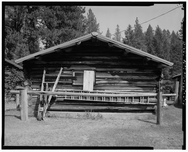 The Horse Ranch, Bunkhouse No. 2, Eagle Cap Wilderness Area, Joseph, Wallowa County, OR