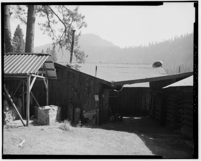 The Horse Ranch, Kitchen-Dining Hall, Eagle Cap Wilderness Area, Joseph, Wallowa County, OR