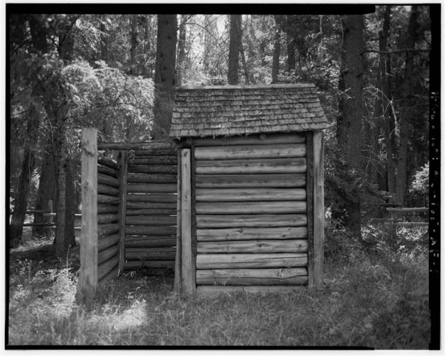 The Horse Ranch, Millard Ranger Station Privy, Eagle Cap Wilderness Area, Joseph, Wallowa County, OR