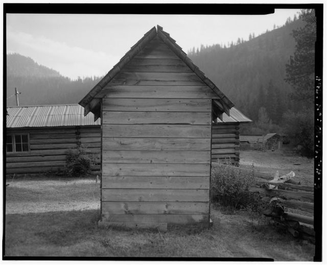 The Horse Ranch, Privy No. 1, Eagle Cap Wilderness Area, Joseph, Wallowa County, OR