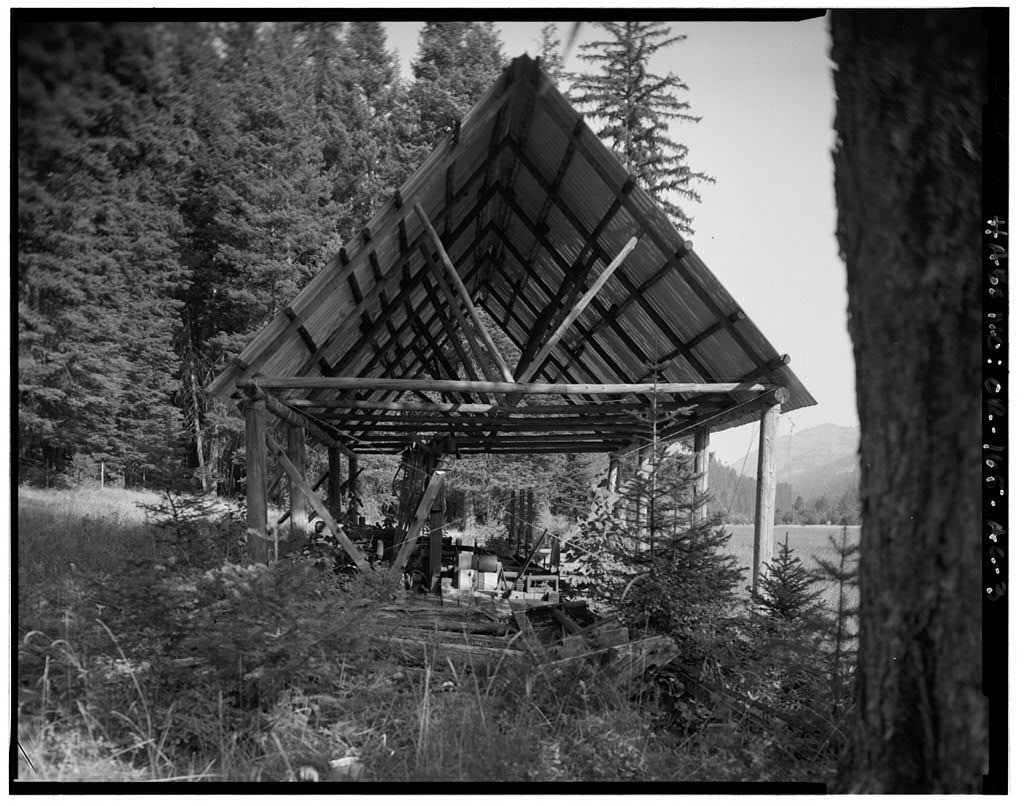 The Horse Ranch, Sawmill, Eagle Cap Wilderness Area, Joseph, Wallowa County, OR
