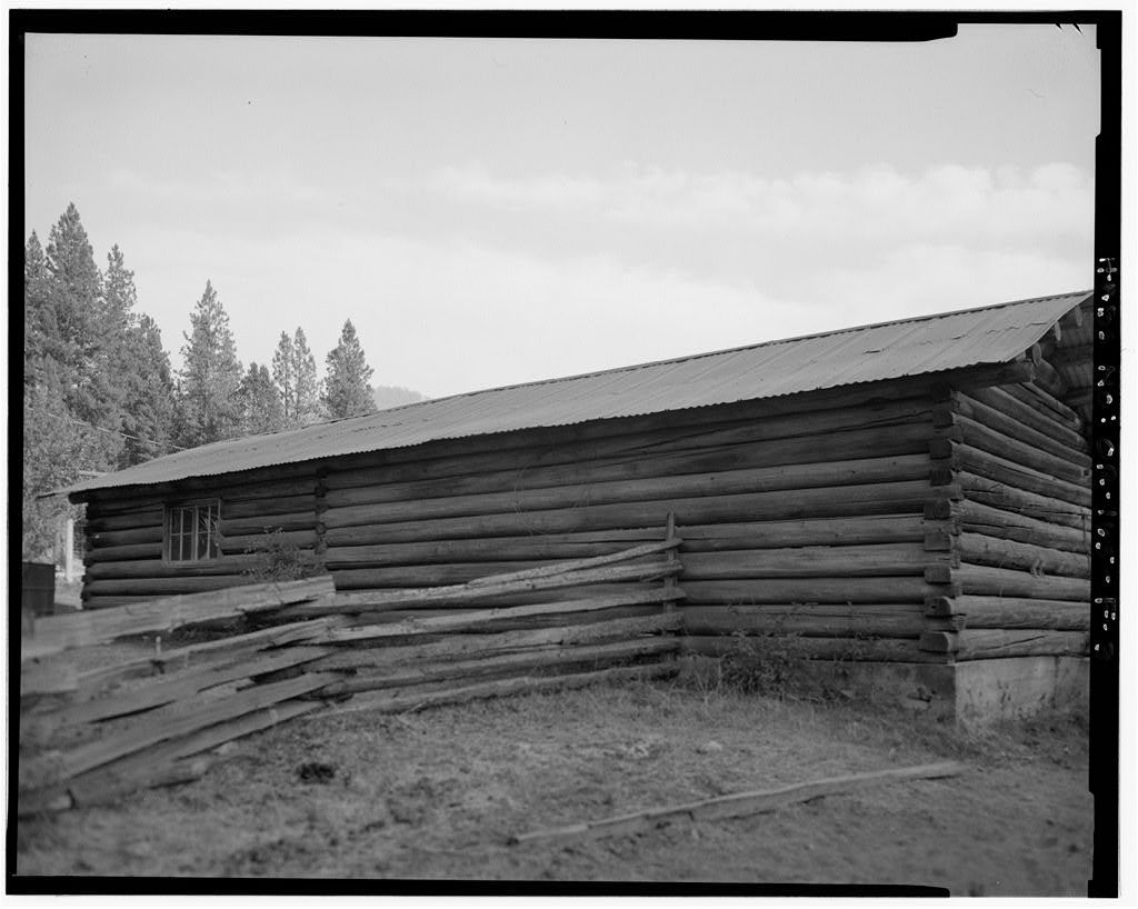 The Horse Ranch, Tack Shed, Eagle Cap Wilderness Area, Joseph, Wallowa County, OR