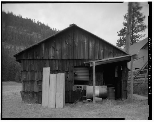 The Horse Ranch, Workshop-Generator Shed, Eagle Cap Wilderness Area, Joseph, Wallowa County, OR