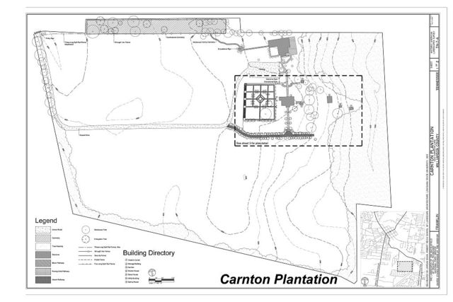 The Landscapes of the Battlefield of Franklin, Tennessee, Carnton Plantation, 1345 Carnton Lane, Franklin, Williamson County, TN