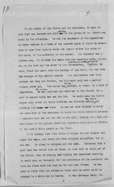 """""""The Negro Problem."""" Address before the Bethel Literary and Historical Society of Washington, D. C."""