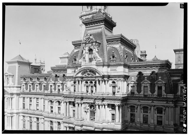 The New Public Buildings, Penn Square, Broad & Market Streets, Philadelphia, Philadelphia County, PA