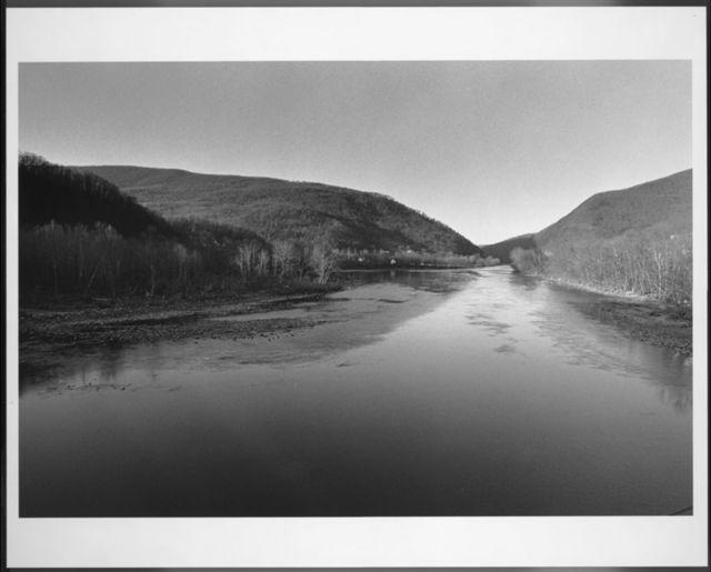 The New River at Narrows, Virginia, November 28, 1975.