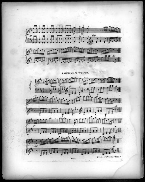The  queen of Prussia's favorite waltz, no. 1 & 2
