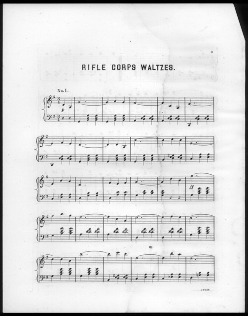 The  rifle corps waltzes