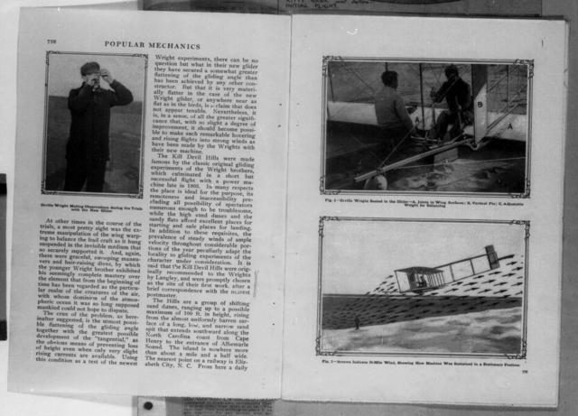 The Secret Experiments of the Wright Brothers [Victor Longhand, Popular Mechanics]