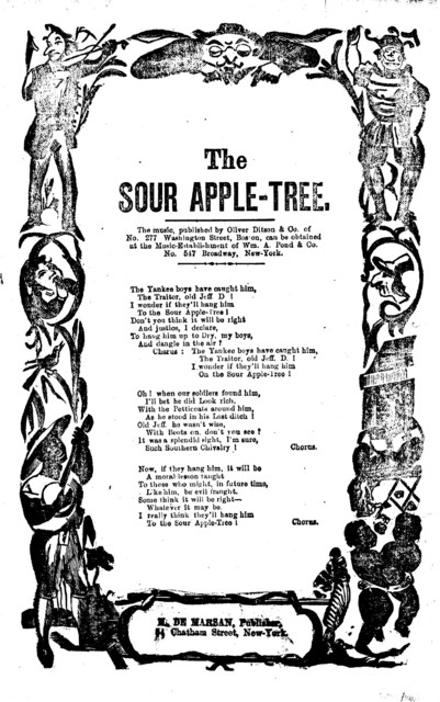 The sour apple-tree. H. De Marsan, Publisher, 54 Chatham Street, N. Y