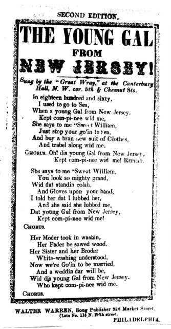 The young invincible. By a member of the Minute Men's Glee Club. Tune- Sailier boy. J. H. Johnson, Song Publisher, ... Phila