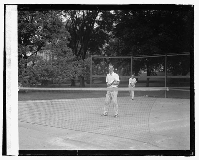 Theo. Roosevelt, Jr. tennis, 8/15/22