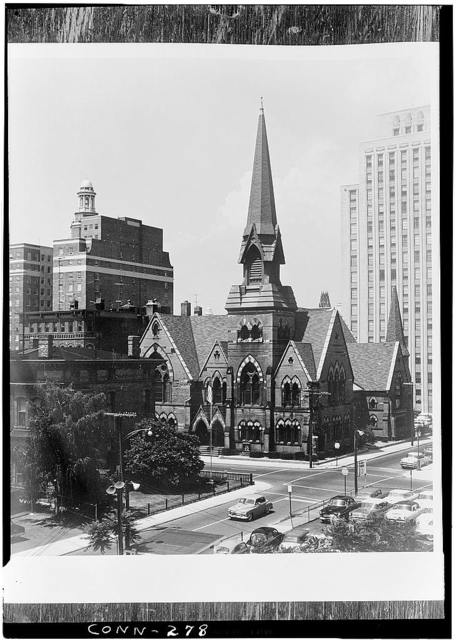 Third Congregational Society, Church of the Redeemer, 292 Orange Street, New Haven, New Haven County, CT