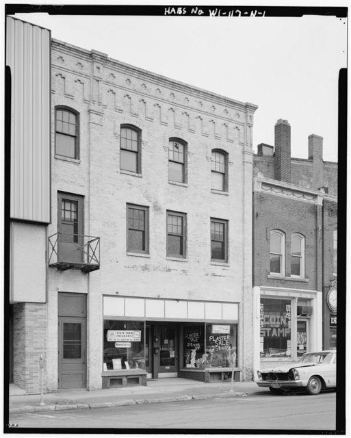 Third Street Historic District, Ringle Building, 313-315 Washington Street, Wausau, Marathon County, WI
