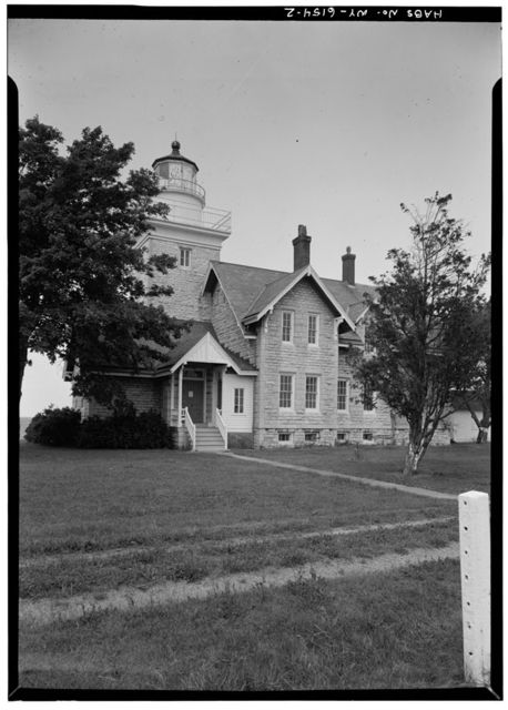 Thirty-mile Point Lighthouse, Golden Hill Park, Lake Ontario, Somerset, Niagara County, NY