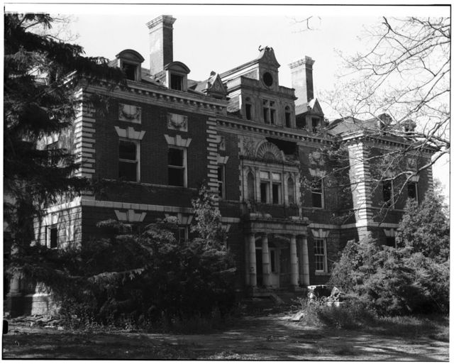Thomas Asylum for Orphan & Destitute Indians, Administration Building, Route 438, Cattaraugas Reservation, Irving, Chautauqua County, NY