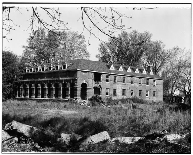 Thomas Asylum for Orphan & Destitute Indians, Dormitory, Route 438, Cattaraugas Reservation, Irving, Chautauqua County, NY