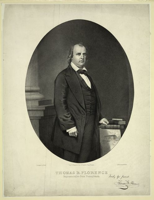 Thomas B. Florence, representative from Pennsylvania