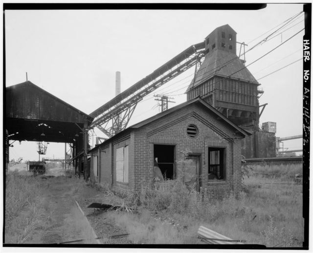 Thomas By-Product Coke Works, Track Hooper & Workshop, 1200 Tenth Street West, Thomas, Jefferson County, AL