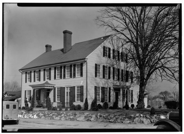 Thomas Carpenter House, Main & Martel Streets, Mantua, Gloucester County, NJ