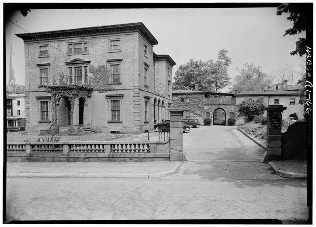 Thomas F. Hoppin House, 383 Benefit Street, Providence, Providence County, RI
