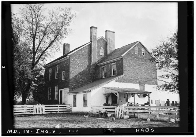 Thomas House, State Route 304, Ruthsburg, Queen Anne's County, MD