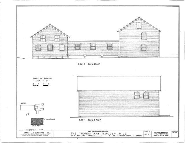 Thomas Kay Woolen Mill, 260 Twelfth Street, Salem, Marion, OR