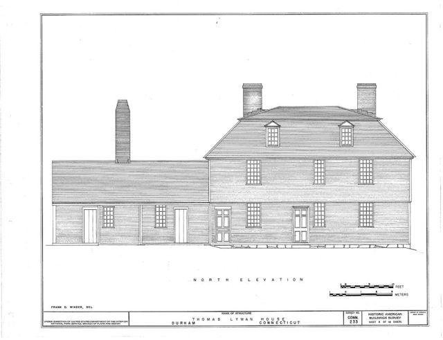 Thomas Lyman House, Durham, Middlesex County, CT