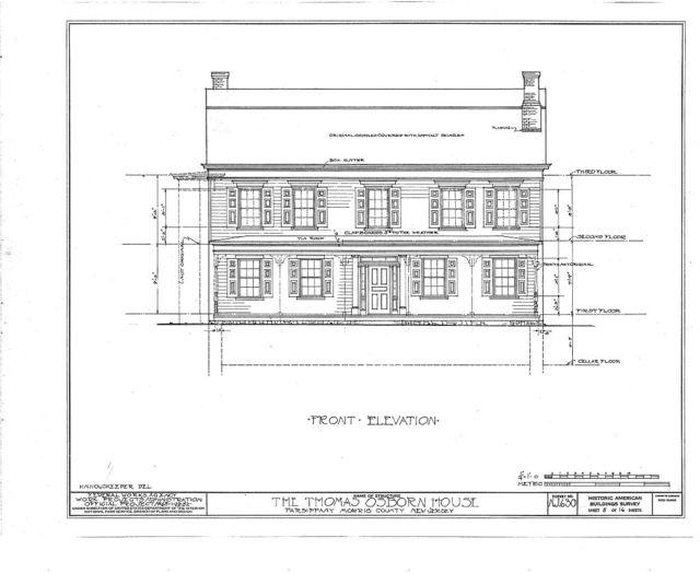 Thomas Osborn House, Parsippany Road, Parsippany, Morris County, NJ