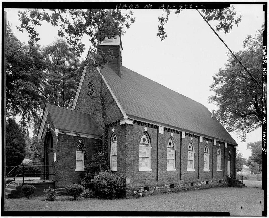Thomas Presbyterian Church, First Street & Pennsylvania Avenue, Thomas, Jefferson County, AL