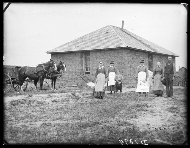 Thompson, east Custer County, Nebraska.